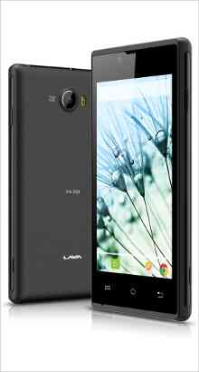 Whatsapp on Lava Mobiles Iris 250