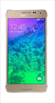 Whatsapp on Samsung Galaxy Alpha