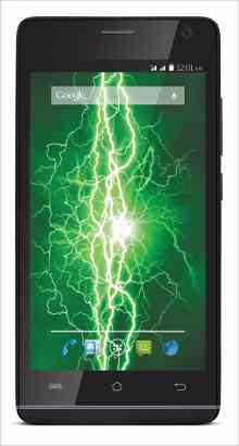 Whatsapp on Lava Mobiles Iris Fuel 50