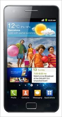 Whatsapp on Samsung Galaxy S II I9100