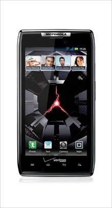 Whatsapp on Motorola Droid RAZR