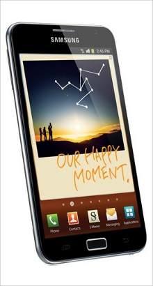 Whatsapp on Samsung Galaxy Note
