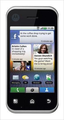 Whatsapp on Motorola BACKFLIP