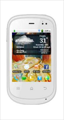 Whatsapp on Micromax A44 Superfone