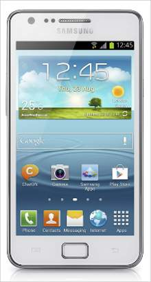 Whatsapp on Samsung Galaxy SII Plus