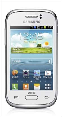 Whatsapp on Samsung Galaxy Young