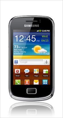 Whatsapp on Samsung Galaxy Mini 2