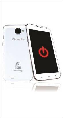 Whatsapp on BSNL Champion Trendy 531