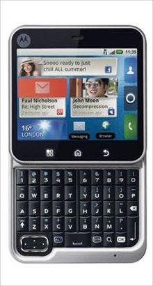 Whatsapp on Motorola FlipOut