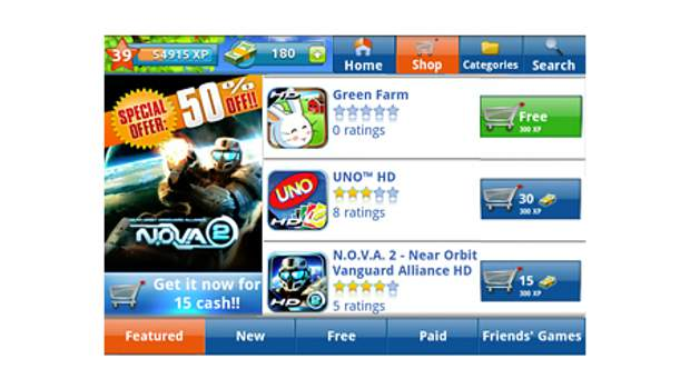 Gameloft brings Xbox Live like app to Android