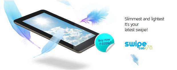 Swipe Telecom launches tablet