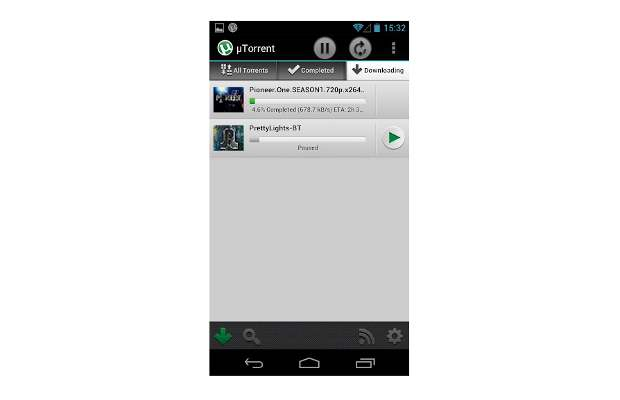 uTorrent app now on Android
