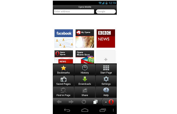 New version of Opera mobile browser for Android launched