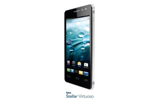 Phone Virtuoso Spice launche dual SIM Android Stellar Virtuoso and Stellar Pad
