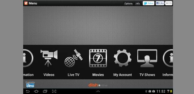Dish TV launches video streaming app