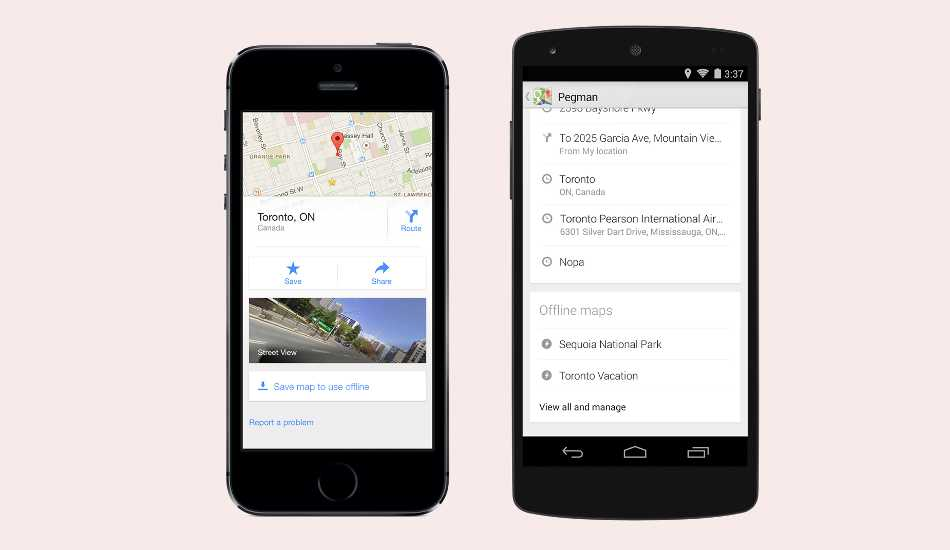 Google Maps 8.0 released, brings offline maps feature