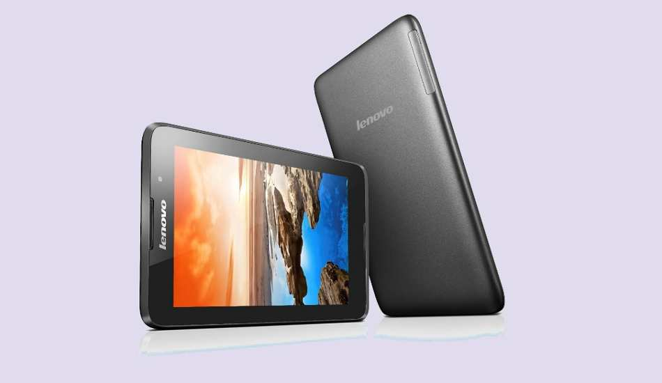 Lenovo launches 3G version of A7-30 tablet for Rs 9,999