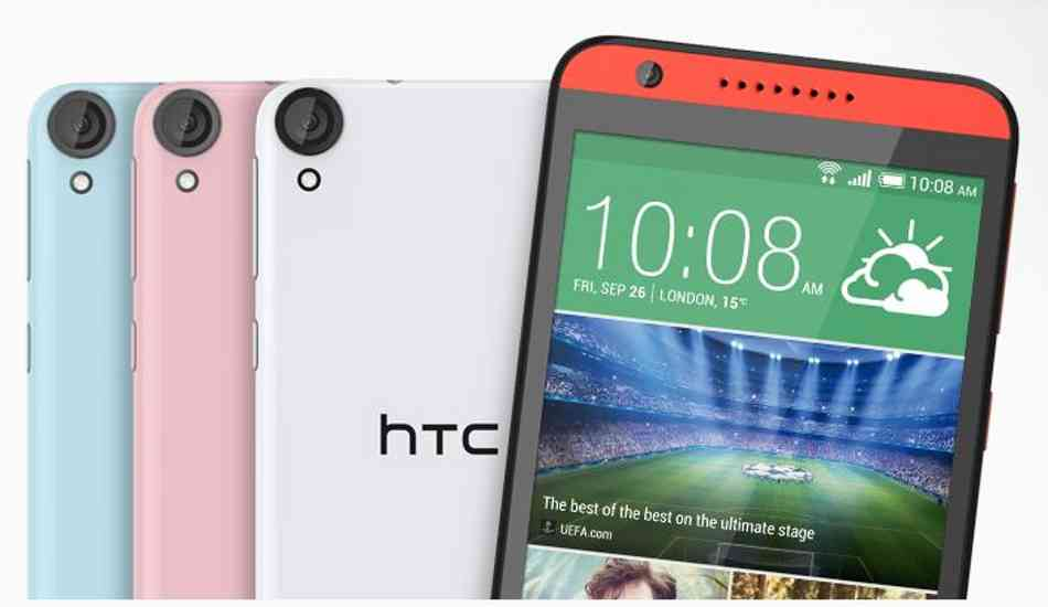 second htc desire 820 latest android version lost