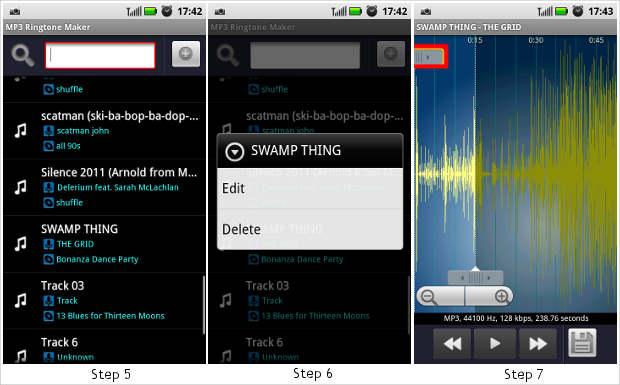 How to make custom ringtone using MP3 Ringtone maker