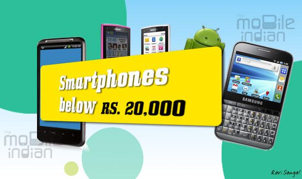 Top 5 smartphones under Rs 20,000 March-April