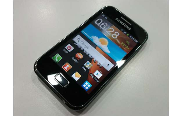 though it resembles galaxy ace the new galaxy ace plus