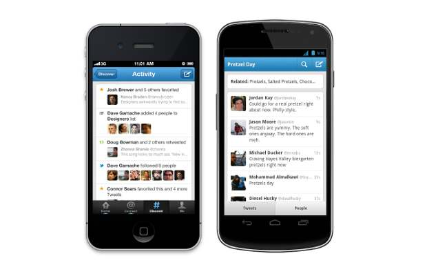 Twitter app for Android, iOS gets discover tab