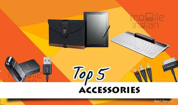 top five accessories