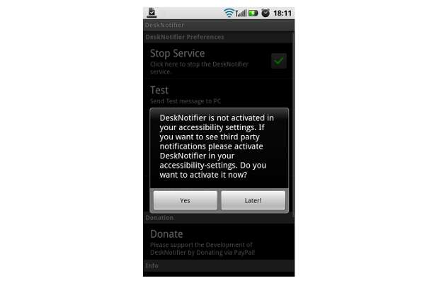 how to enable download notification in android