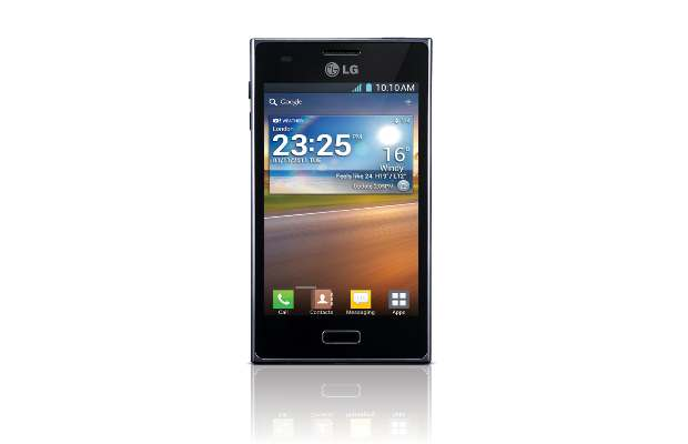LG Optimus L5 with Android ICS
