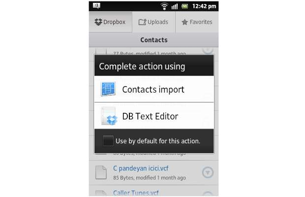 How to sync contacts