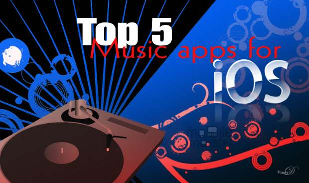 Top 5 free music apps for iOS