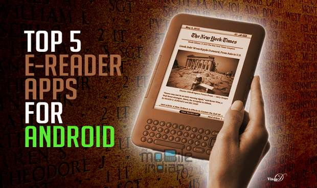 Best eBook reader apps for Free on Android