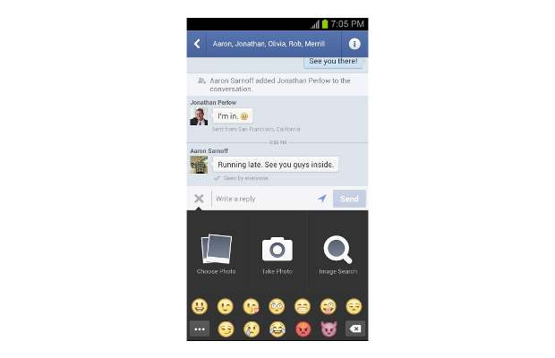 Android Facebook Messenger gets threaded messaging view