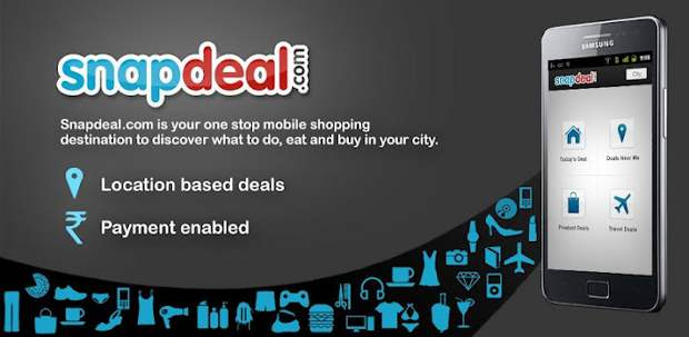 6ed7456bbd4 The Snapdeal app for Android brings to the board all this and more. Users  can track deals and offers from nearby areas with the help of the  application and ...