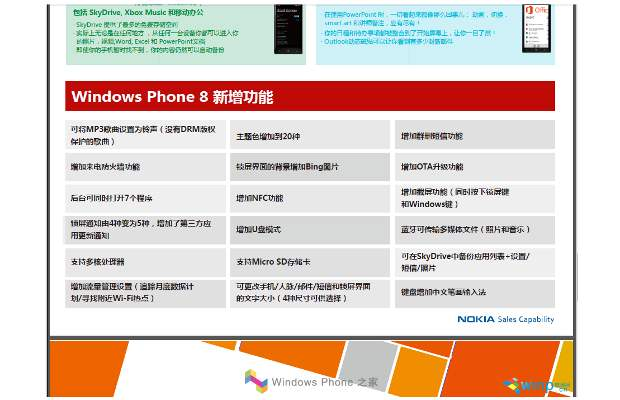 Nokia accidentally reveals WP 7.8 details