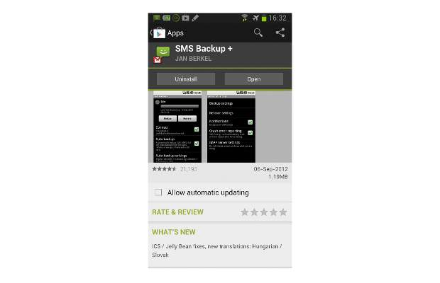 How to Backup SMS and call log to Gmail