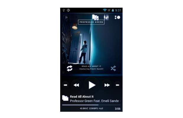 Top 5 music player apps for Android
