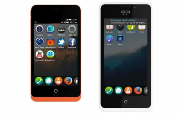 Mozilla introduces two phones