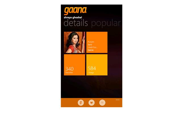 Gana music app now available for Windows Phone