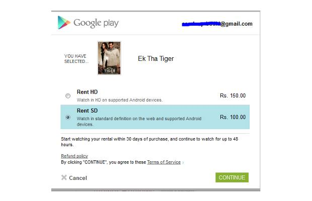 After Nexus 7, movies available on Google Play