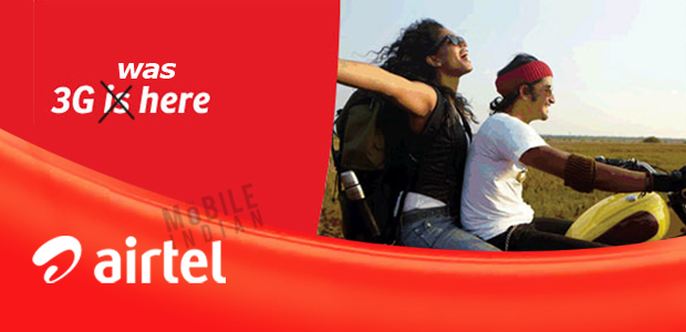 Airtel will have to stop 3-G services in 7 circles