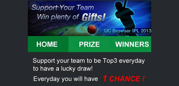 Want IPL tickets for free? Get Ultimate Cricket 2013
