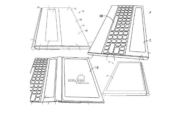 Nokia Patent reveals a tab with attached keyboard