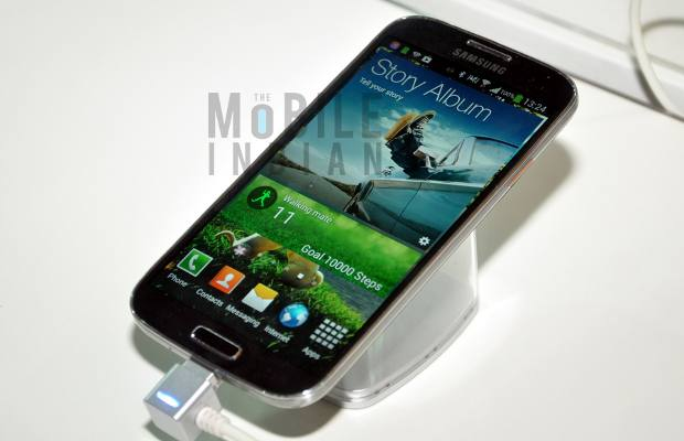 First look: Samsung Galaxy S4