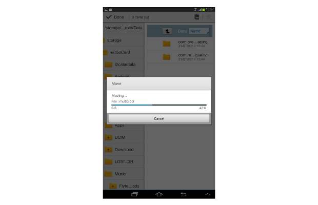 how to create a folder on sd card android