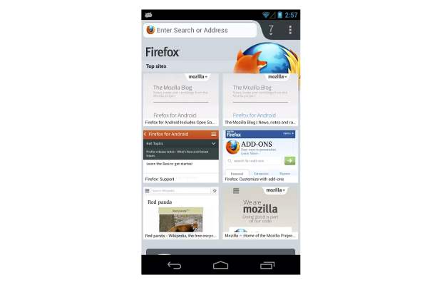 Firefox beta for Android arrives with bunch of improvements