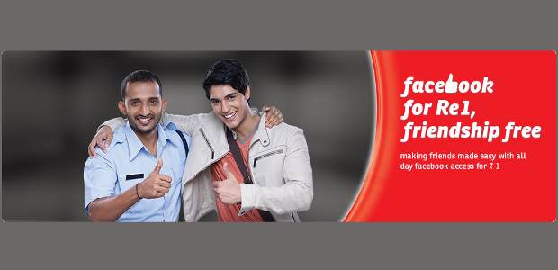 Airtel offers videos, songs and Facebook, all for Re 1