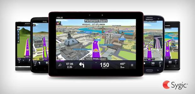 Sygic Android maps app