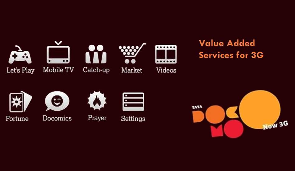 How to activate 3g services on tata docomo connection.