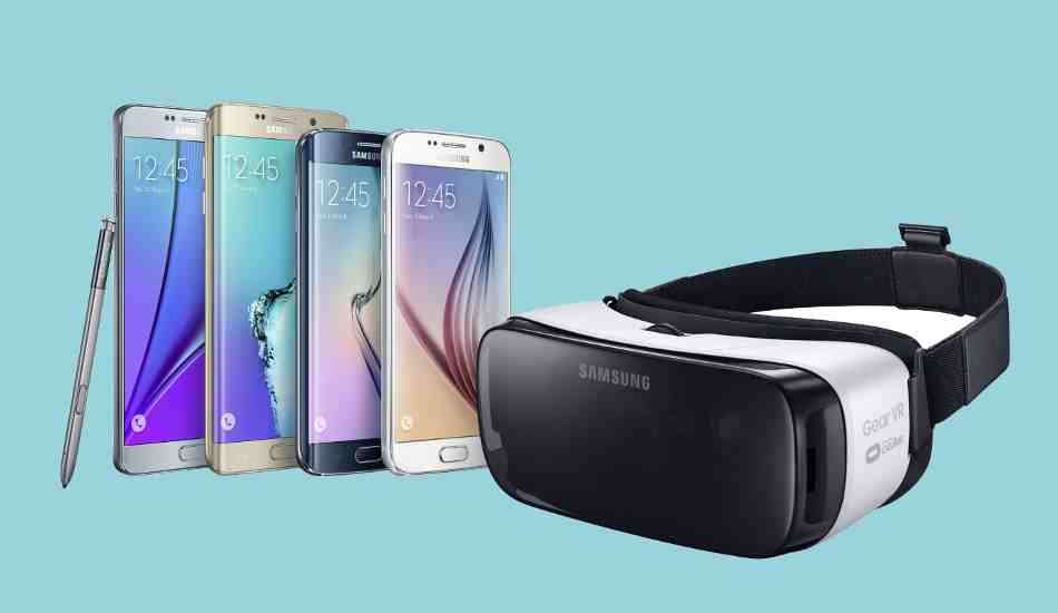 Gear Vr Samsung S First Virtual Reality Smartphone Headset For Consumers Announced